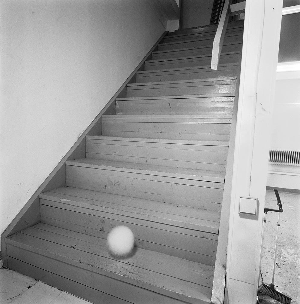 Nuage dans l'escalier (2001)